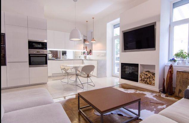 Swadosch Reconstruction Interior Design Kitchen / Living room