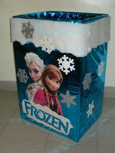 Fiesta de cumplea os frozen 100 ideas originales cajas - Ideas para fiestas de cumpleanos originales ...