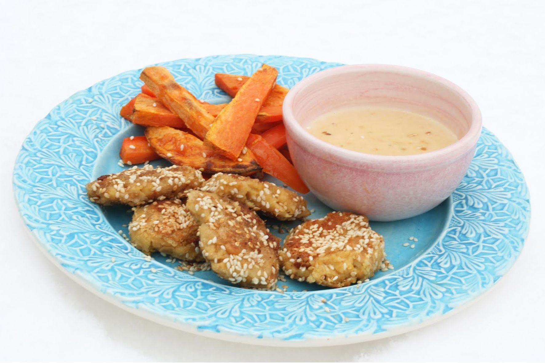 vegetariska chicken nuggets
