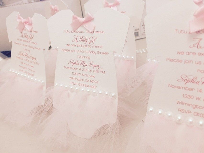 new to anaderoux on etsy ballerina baby shower invitation tutu invitation tutu baby