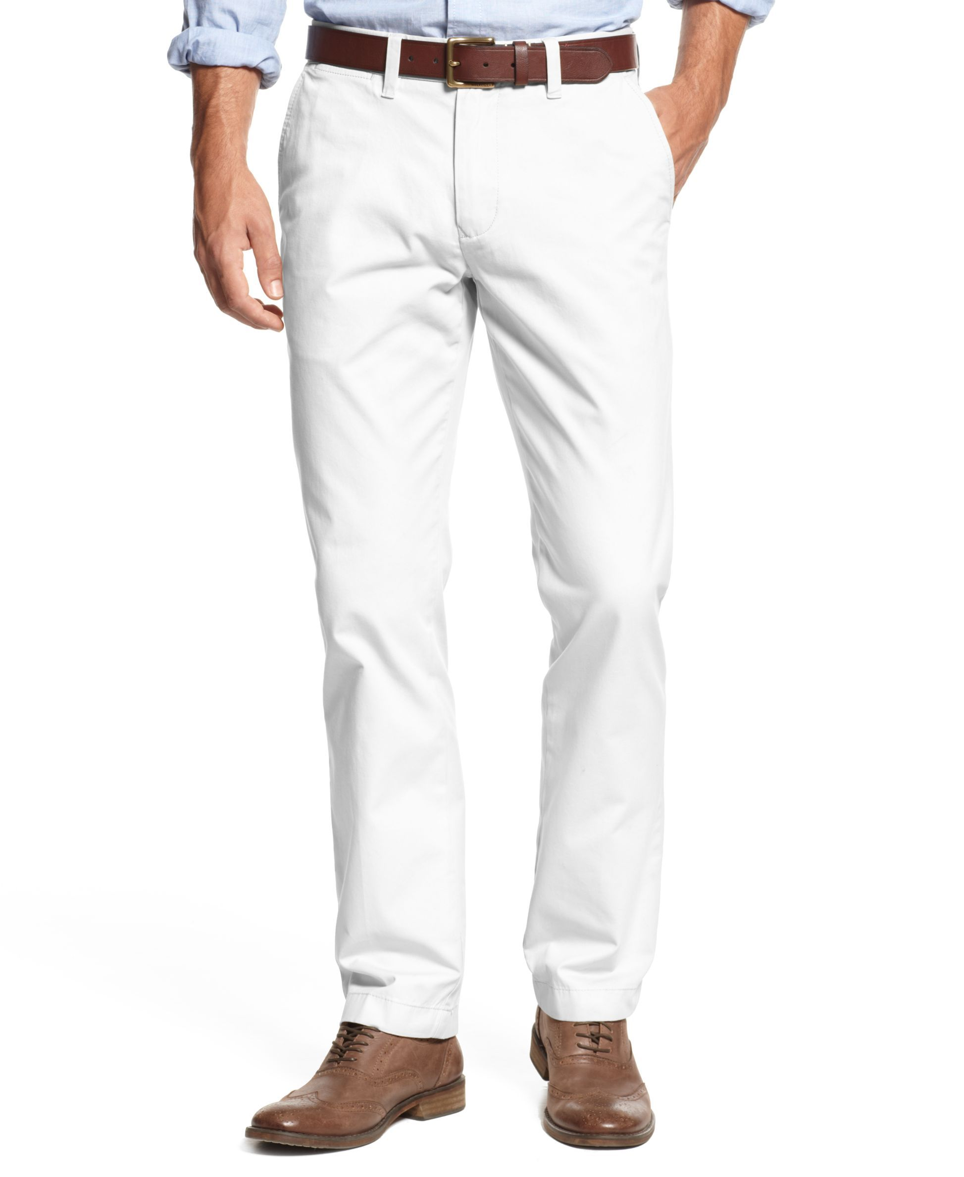c516cdb87 Men's TH Flex Stretch Slim-Fit Chino Pants, Created for Macy's ...