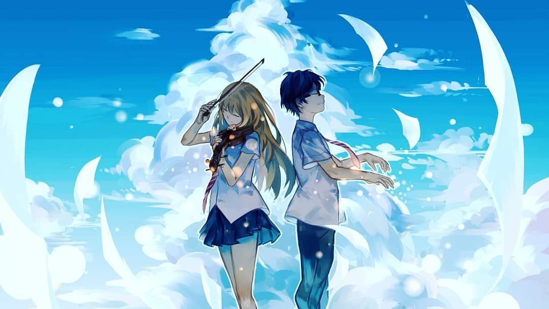 Pin On Anime Show Anime wallpaper your lie in april