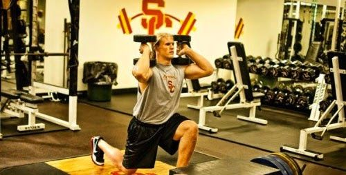 Clay Matthews Work It Out