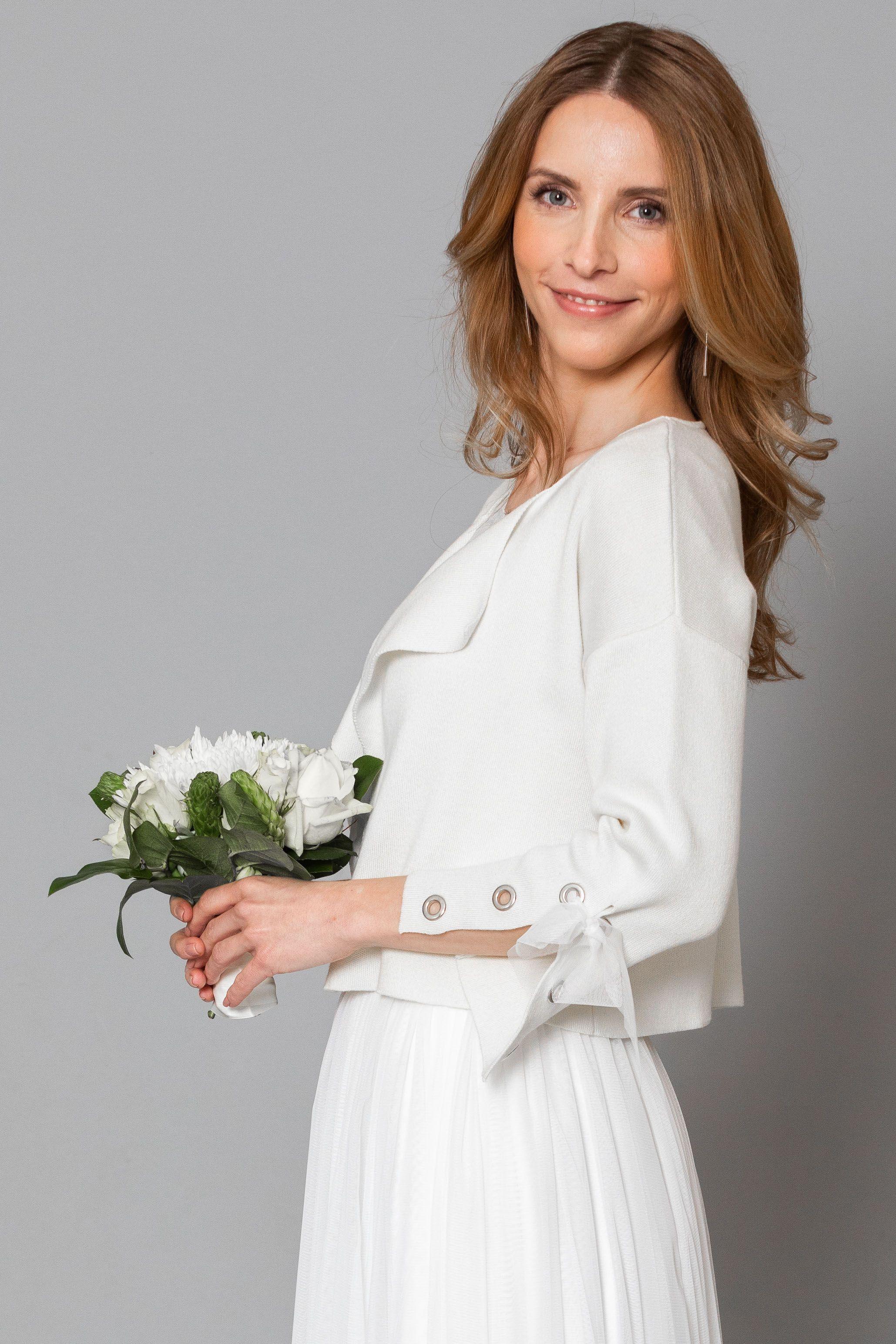 Kurzjacke als Alternative für den Braut Bolero - designt with love
