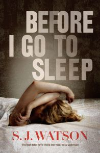 Before I Go To Sleep is a sinister thriller with an amazing yet frustrating ending (think Inception). Read this amazing book before they make it into an okay movie – the movie rights have already been sold.
