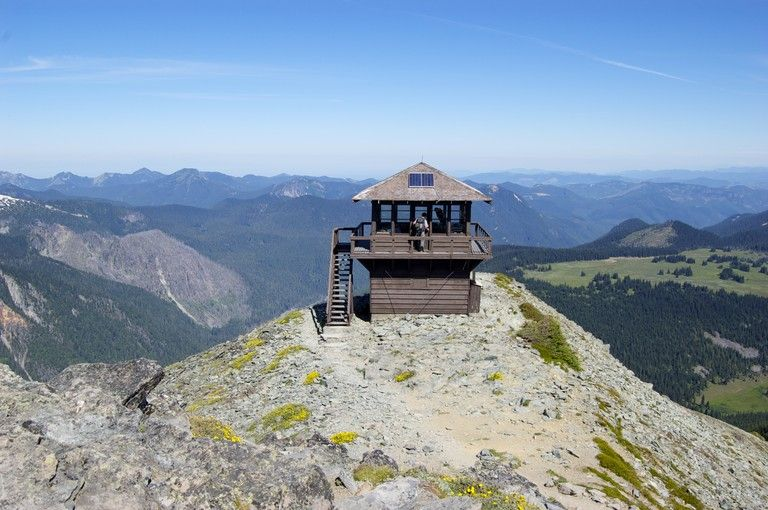 Ever thought of renting a fire lookout? Or, just hike to one. Fremont Lookout.