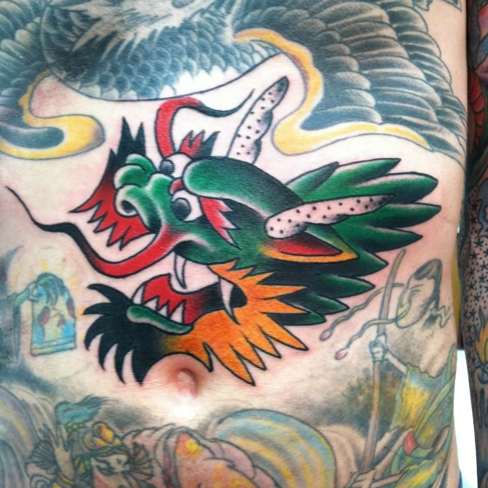 old dragon tattoos cerca con google dragon traditional