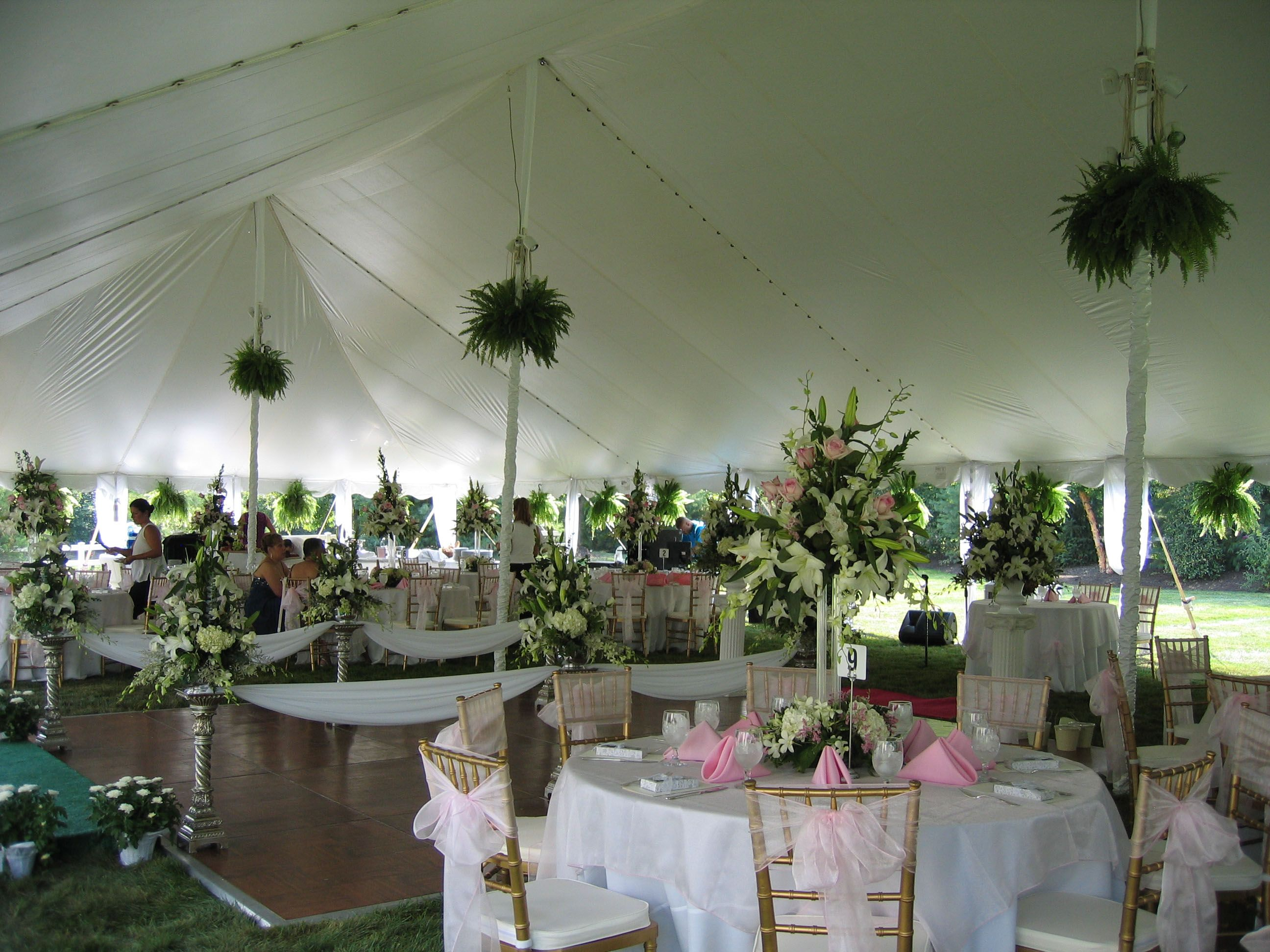 wedding tents   Pole Tents Center Poles as interior supports provide this style tent . & wedding tents   Pole Tents: Center Poles as interior supports ...