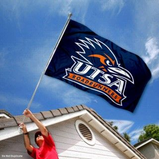UTSA Roadrunners Flag (With images) College flags, New