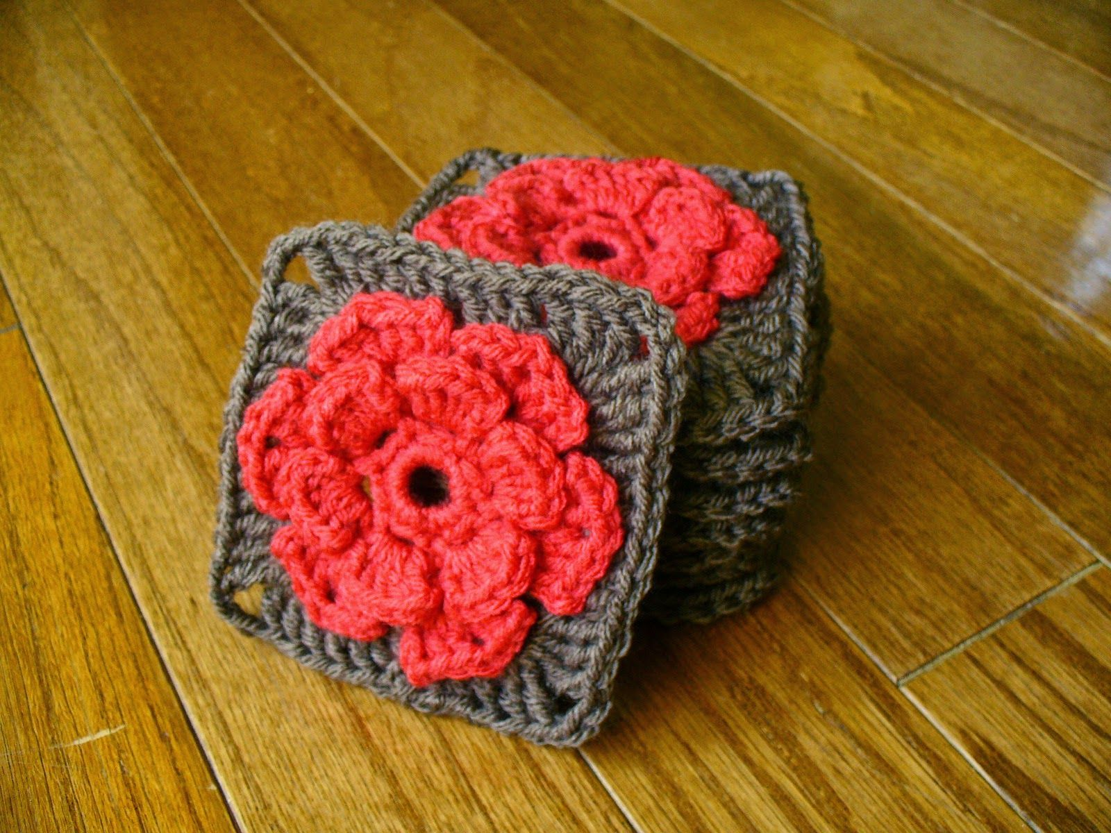 Sanity by Stitches: Rose Granny Square - Pattern | Crochet Granny ...
