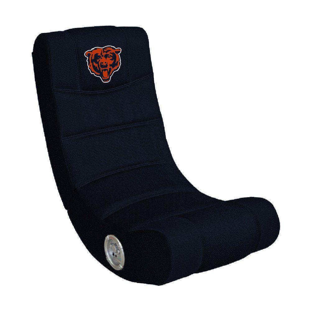 Chicago Bears Rocker Video Gaming Chair W/ Bluetooth