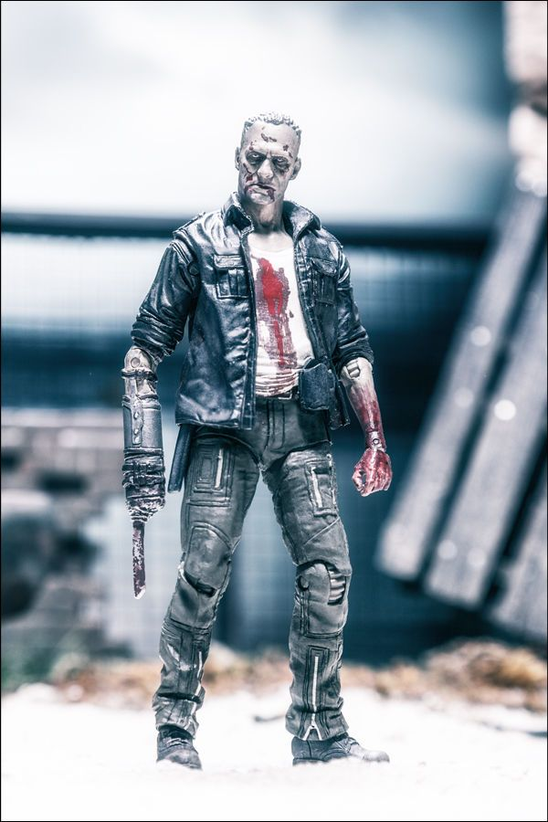 "MCFARLANE 5/"" AMC THE WALKING DEAD TV SERIES 5 MERLE WALKER ZOMBIE ACTION FIGURE"