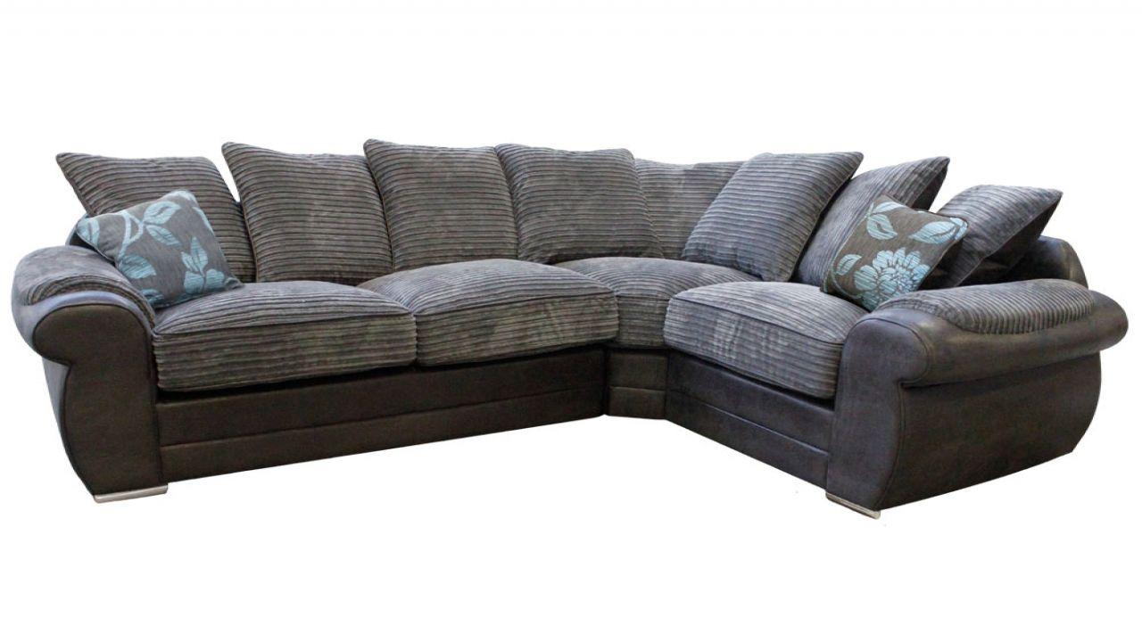 Black And White Leather Corner Sofa Dfs Variant Living I 2020
