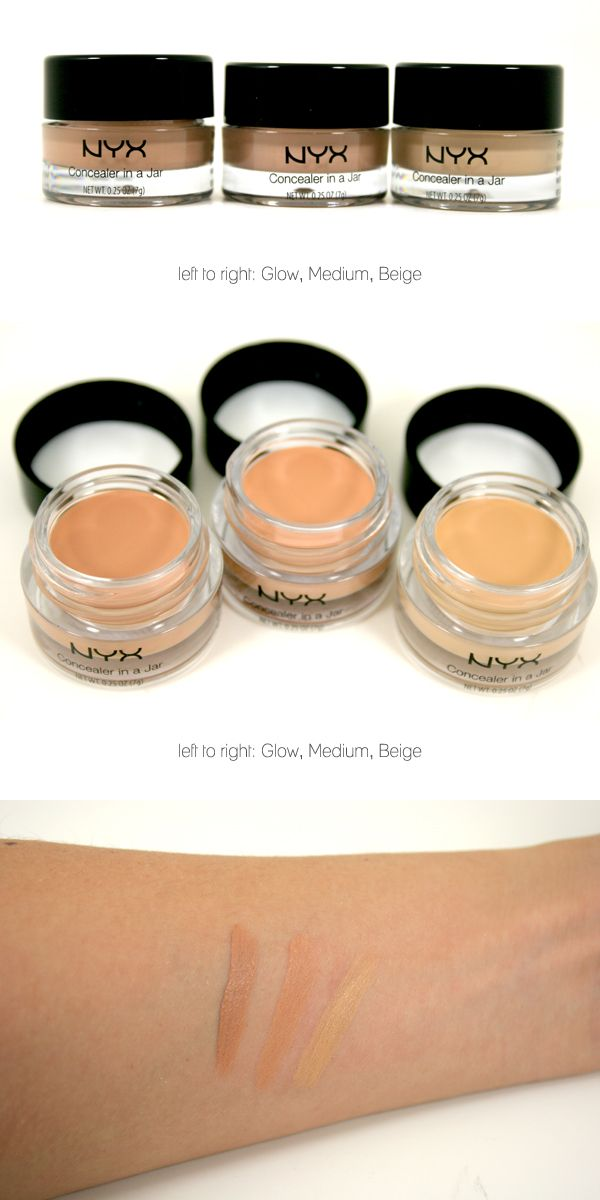 NYX Concealer in a Jar. Dying to go on a NYX haul and try ...
