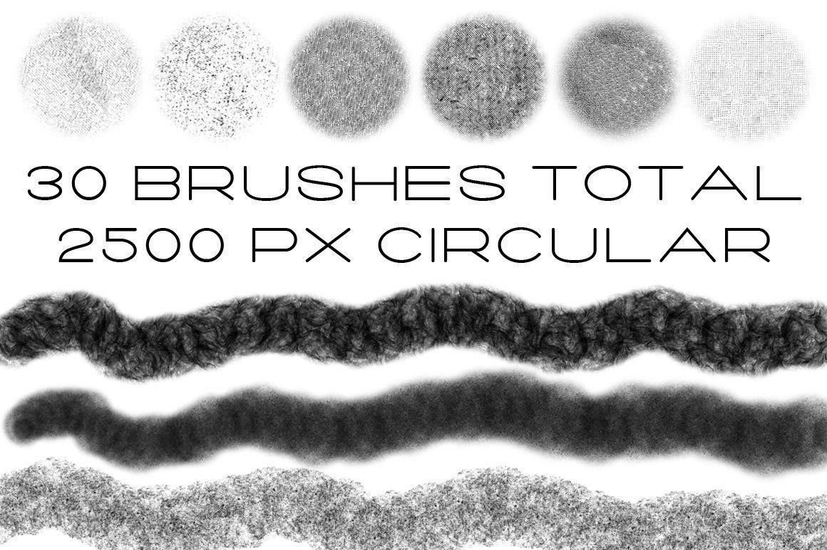 Vintage Brush Kit Vintage brush, Digital art design