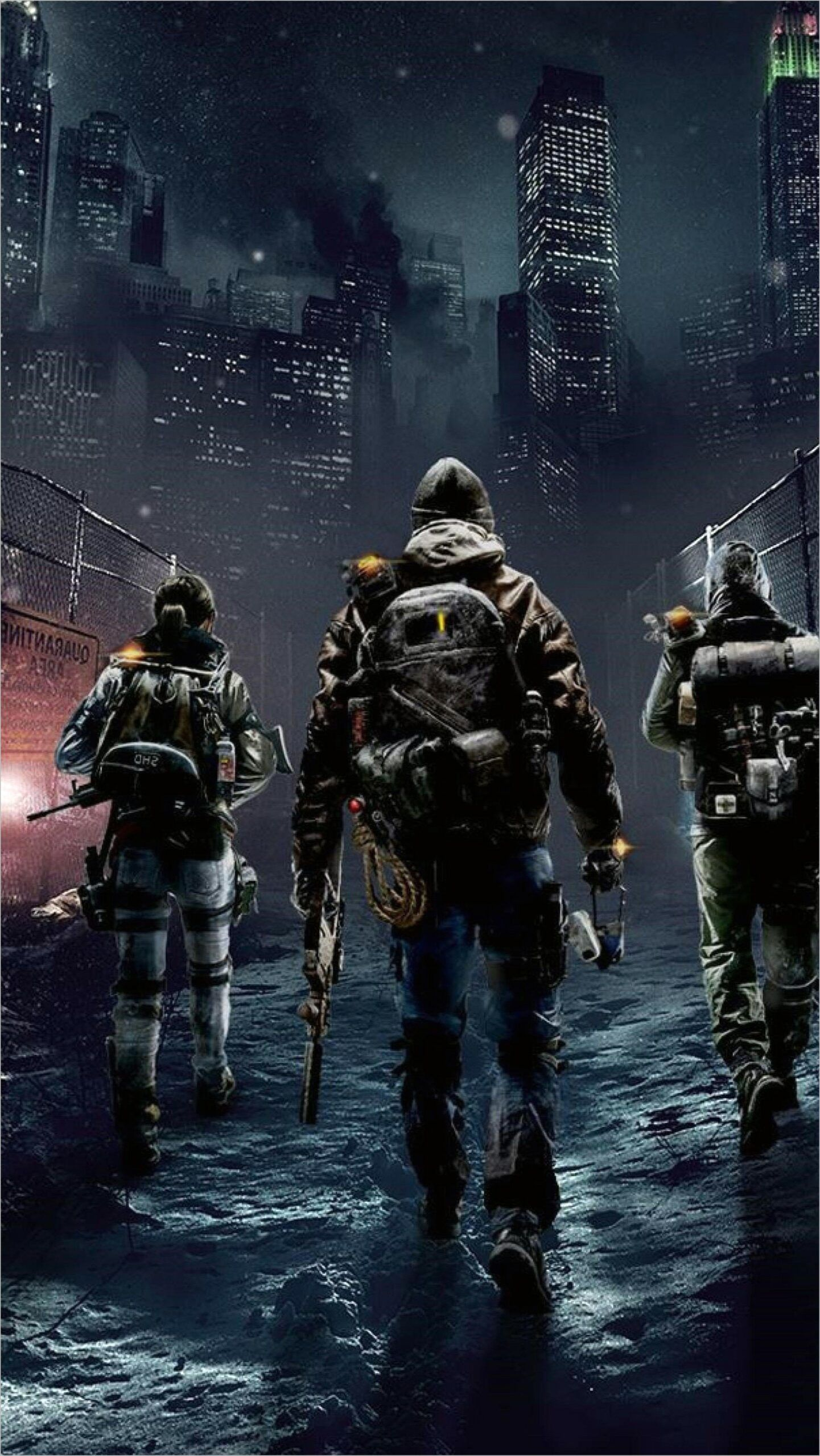 Badass 4k Wallpaper The Division In 2020 Tom Clancy The Division Gaming Wallpapers Tom Clancy