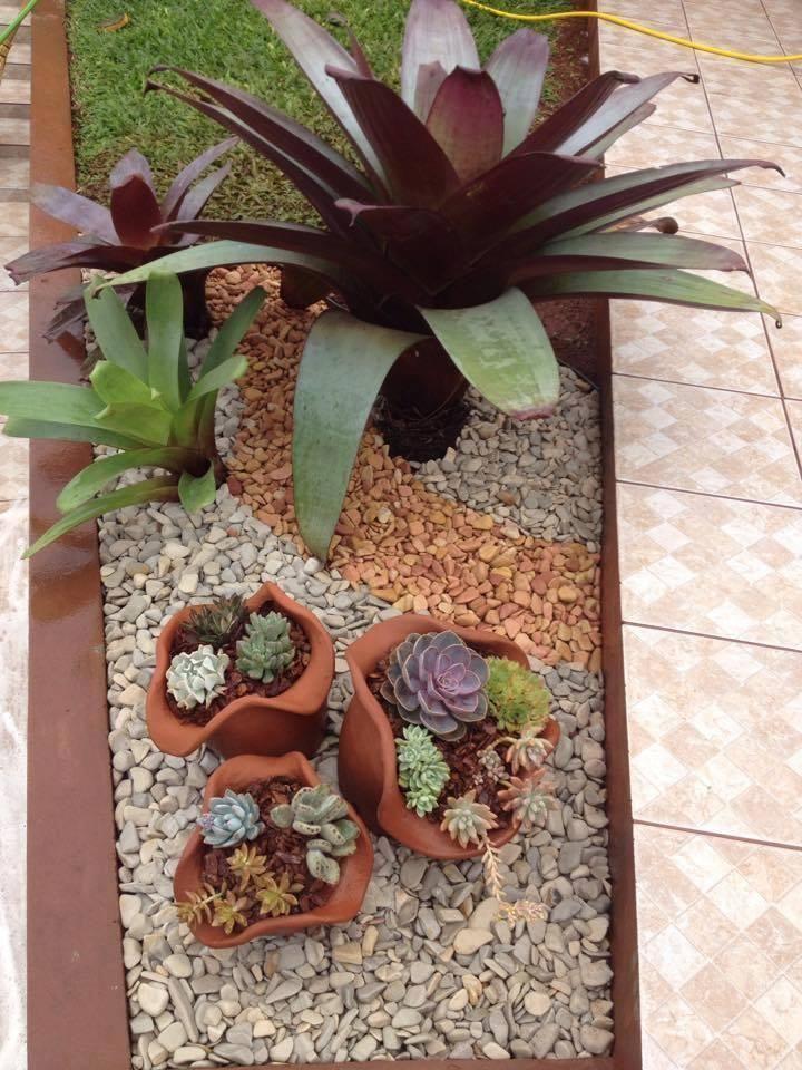 Jardines secos con piedras decoraci n jardines for Decoracion jardin seco