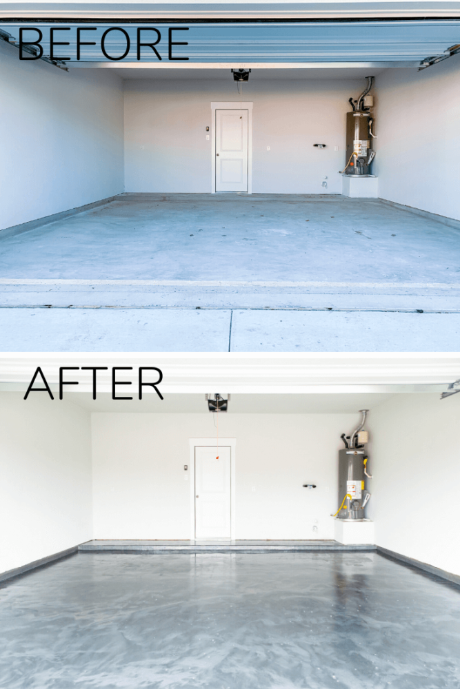 Diy Epoxy Floor Coating In Your Garage