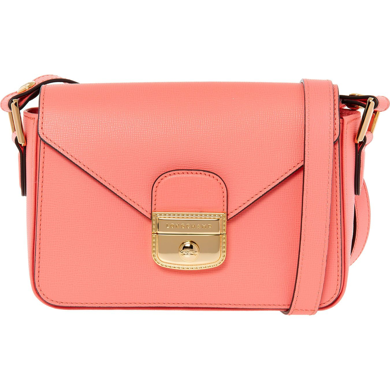 Pink Leather Cross Body Bag Handbags Accessories