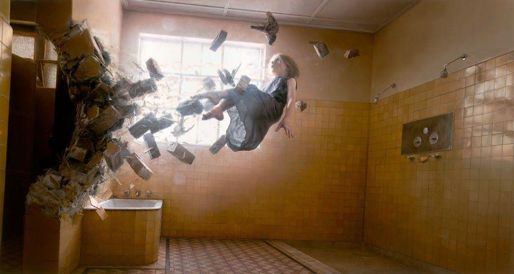 As incríveis pinturas ultra-surrealistas de Jeremy Geddes   Pop Cine Mais