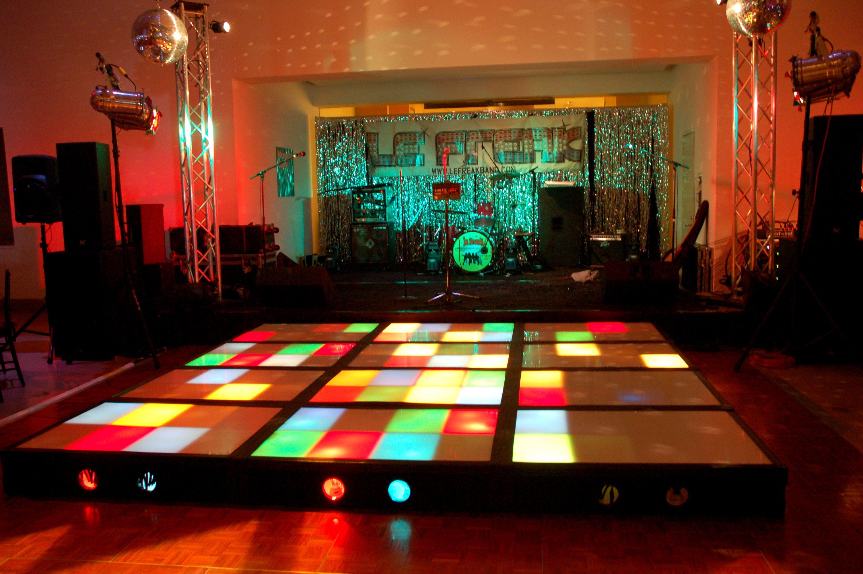 Lighted Dance Floor Light Up Dance Floor Saturday Night Fever Dance Dance Floor