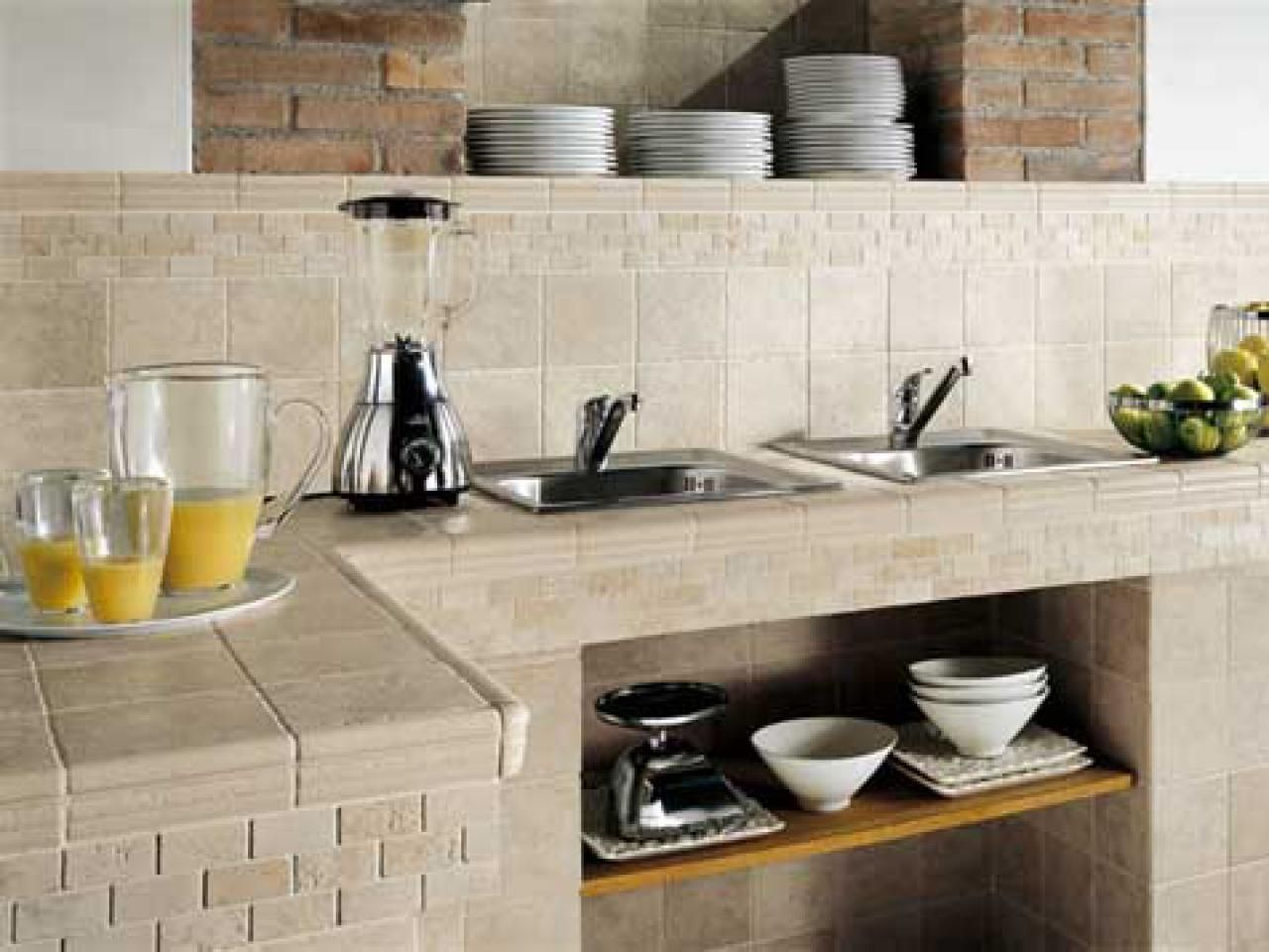 Tile kitchen countertops pictures u ideas from Кухня pinterest