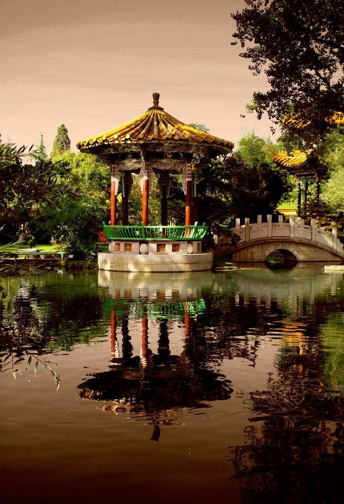 Beautiful photos of Chinese gardens - Xaxor we had a wonderful 4 - chinesischer garten brucke