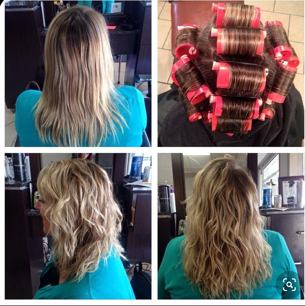Pin By Sheila On Weather In 2020 Wavy Perm Wave Perm Permed Hairstyles