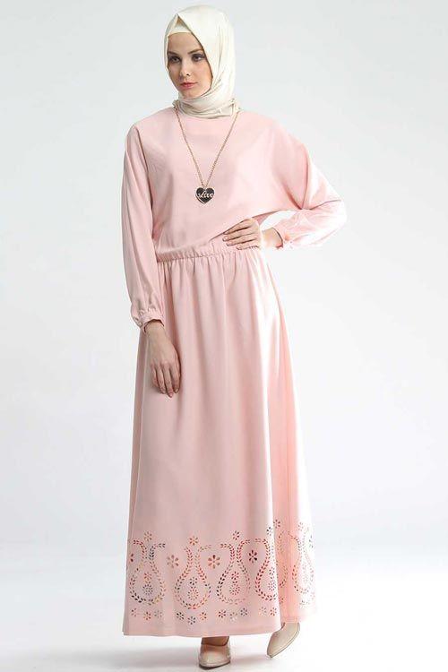 Tesettur Gunluk Elbise Modelleri Genc Google Da Ara Elbise Modelleri Elbise Uzun Elbise