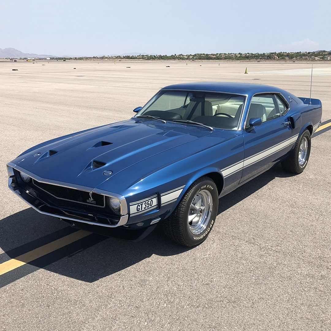 Las Vegas Auction Preview This Matching Numbers 1969 Shelby Gt350