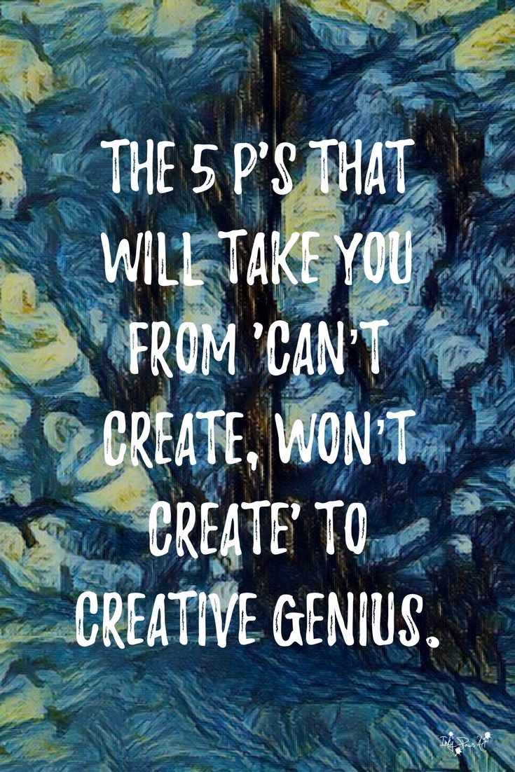 Beginners+Guide+to+Harnessing+your+Creative+Genius+using+the+5+P's+formula+-+taking+you+from+Can't+Create,+Won't+Create+to+Creative+Genius.