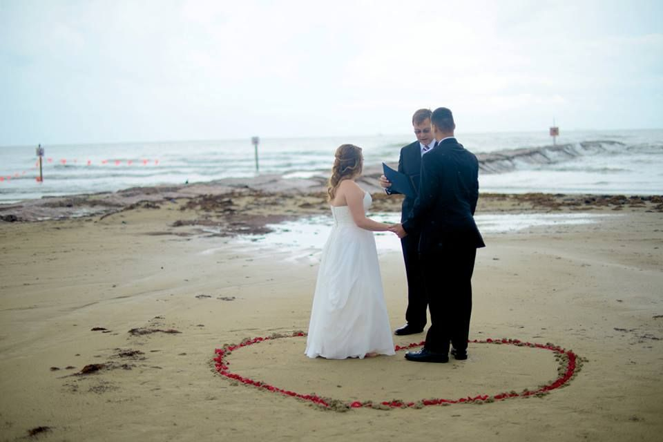 Galveston Beach Weddings