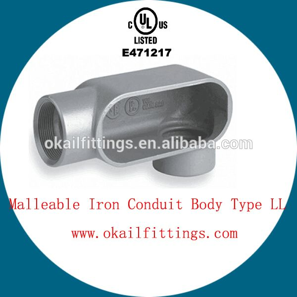 Ul Listed Malleable Iron Conduit Body 1 2 4 Ul E471217 Body Types Body Alibaba