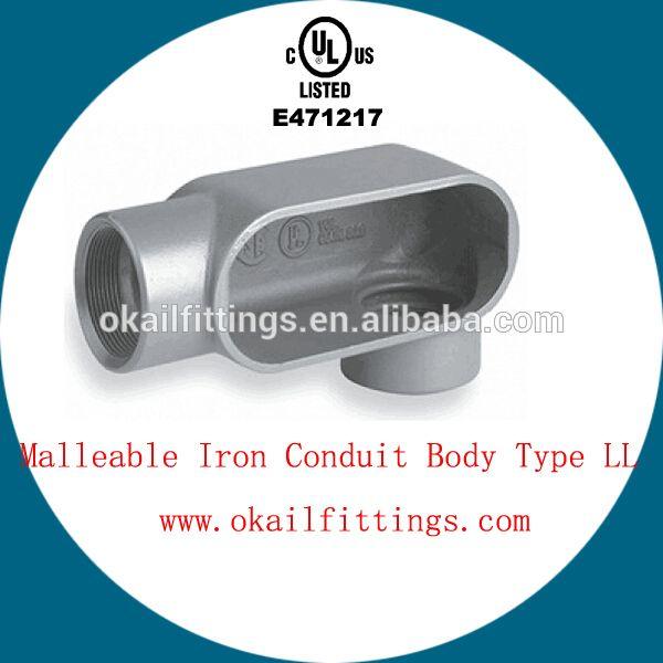 Ul Listed Malleable Iron Conduit Body 1 2 4 Ul E471217 Body Types Body Alibaba