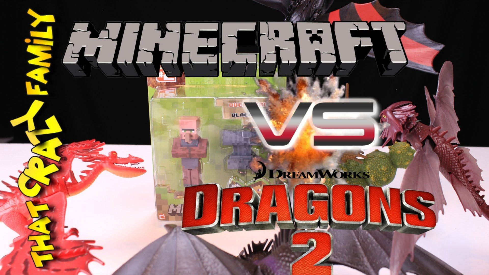 how to train your dragon videos minecraft
