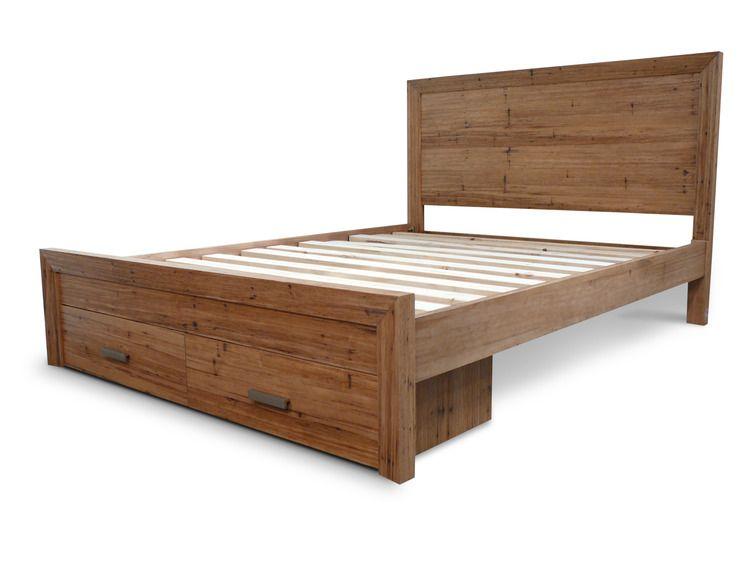 Westport Queen Bed Tasmanian Oak Bed Timber Furniture Queen Beds