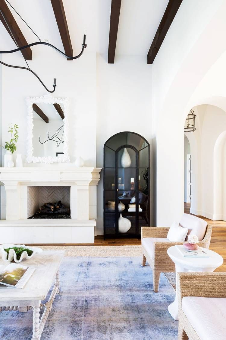 Pin This For The Ultimate Dream Home Inspiration Home Decor Styles Living Room Decor Traditional Mediterranean Home Decor #spanish #style #decorating #living #room