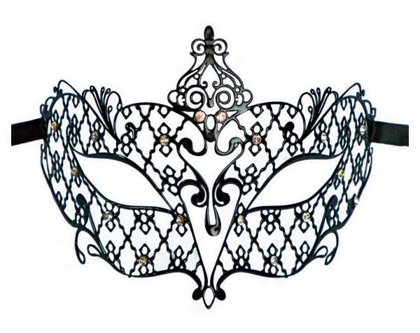 Metal Filigree Masquerade Mask For Ladies Countess Shopcom cakepins