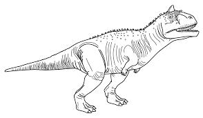 Coloring Page Carnotaurus True North Bricks Coloring Pages Free Coloring Pages Instagram Pictures