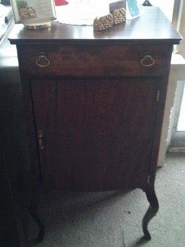 Mahogany Record Cabinet - Refinished - https://classifieds.tradebank.com/barter-ads/mahogany-record-cabinet-refinished/ #tradebank Antiques,Knoxville TN