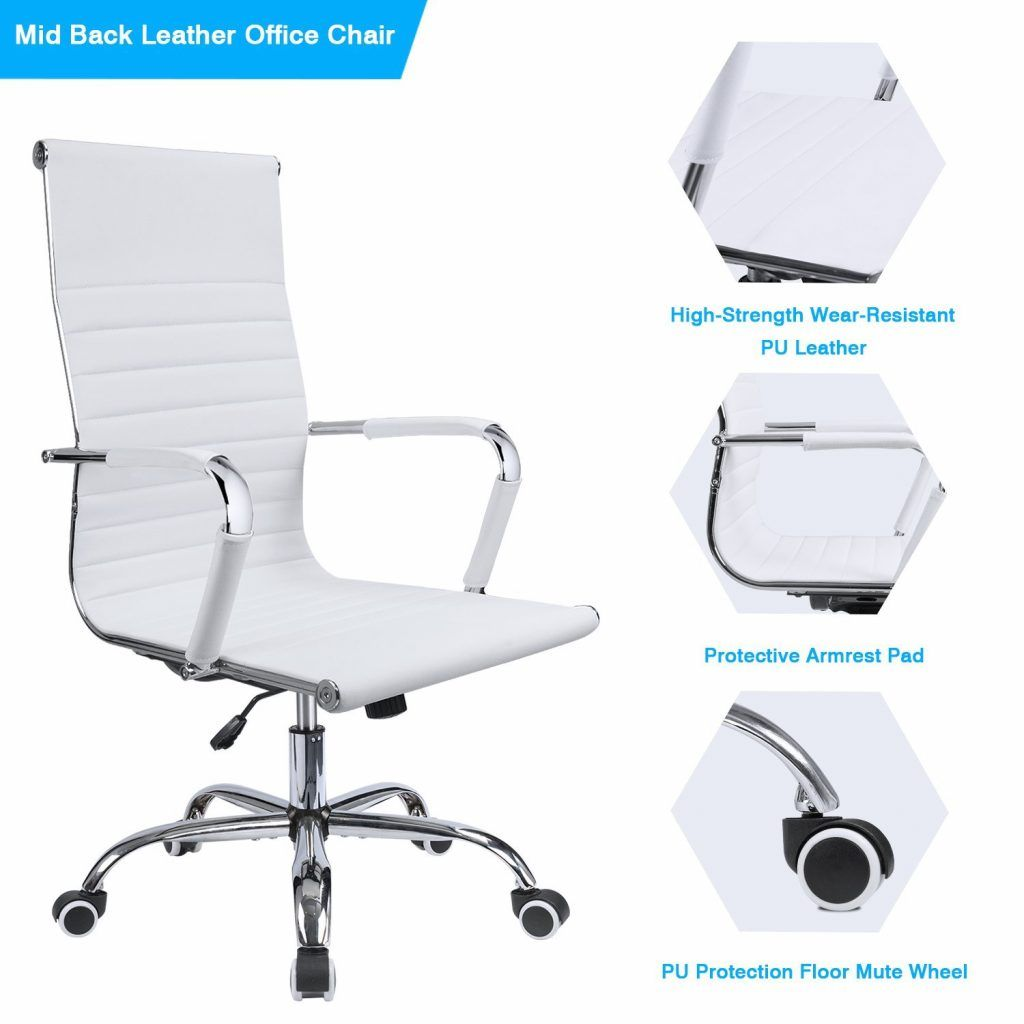 Swell Gtp Office Chair Modern Ribbed Swivel Comfortable Office Squirreltailoven Fun Painted Chair Ideas Images Squirreltailovenorg