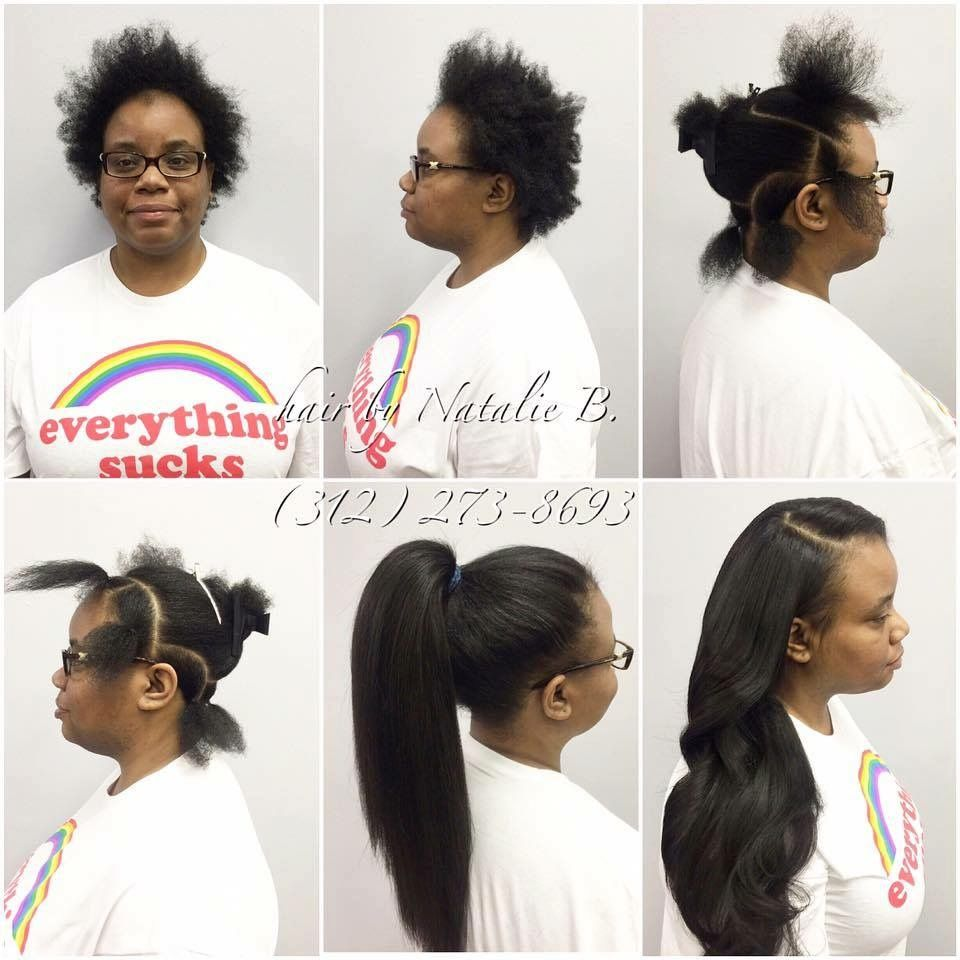 Vixen hair extensions install with edges out | Hair I Want To Wear ...