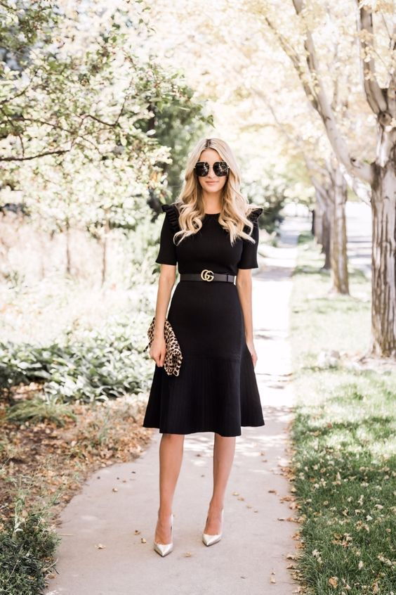 20 Outfit Ideas on How to Wear Little Black Dress in 2019