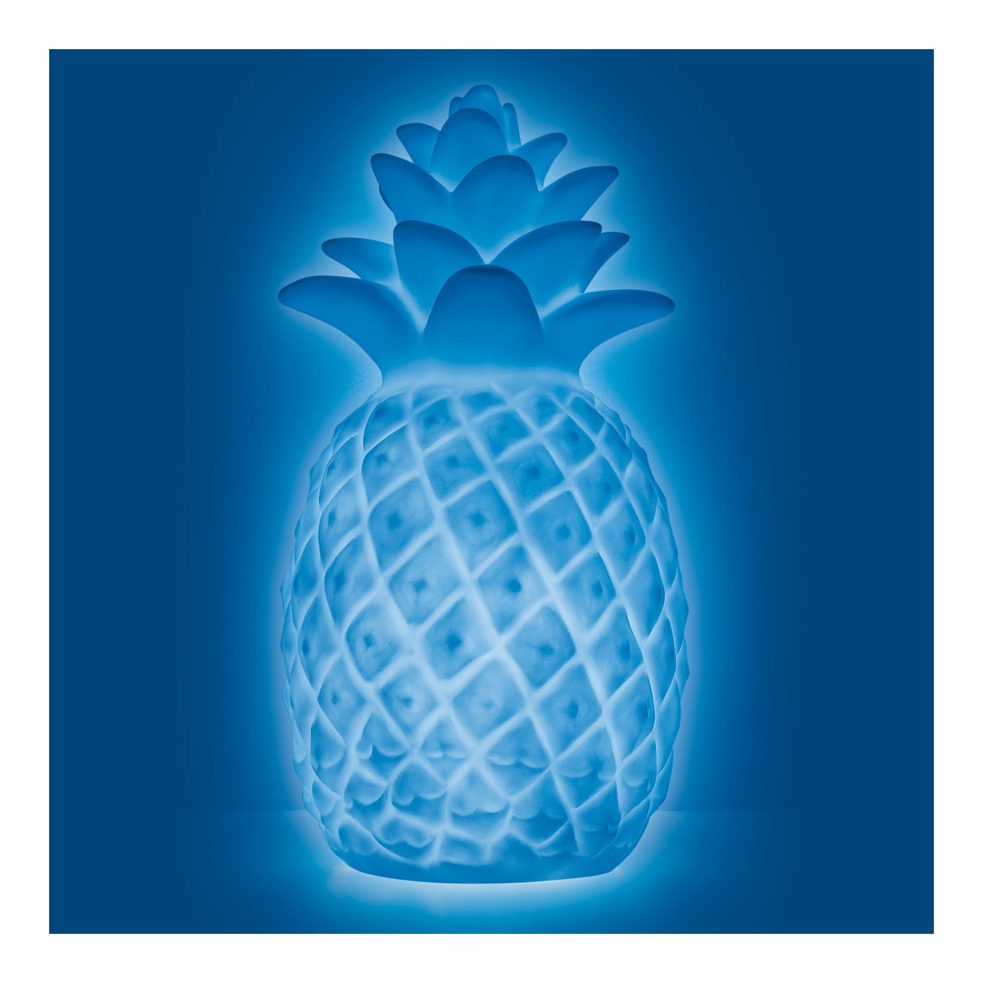 Mini Pineapple Color Changing Light Up Novelty Table Lamp