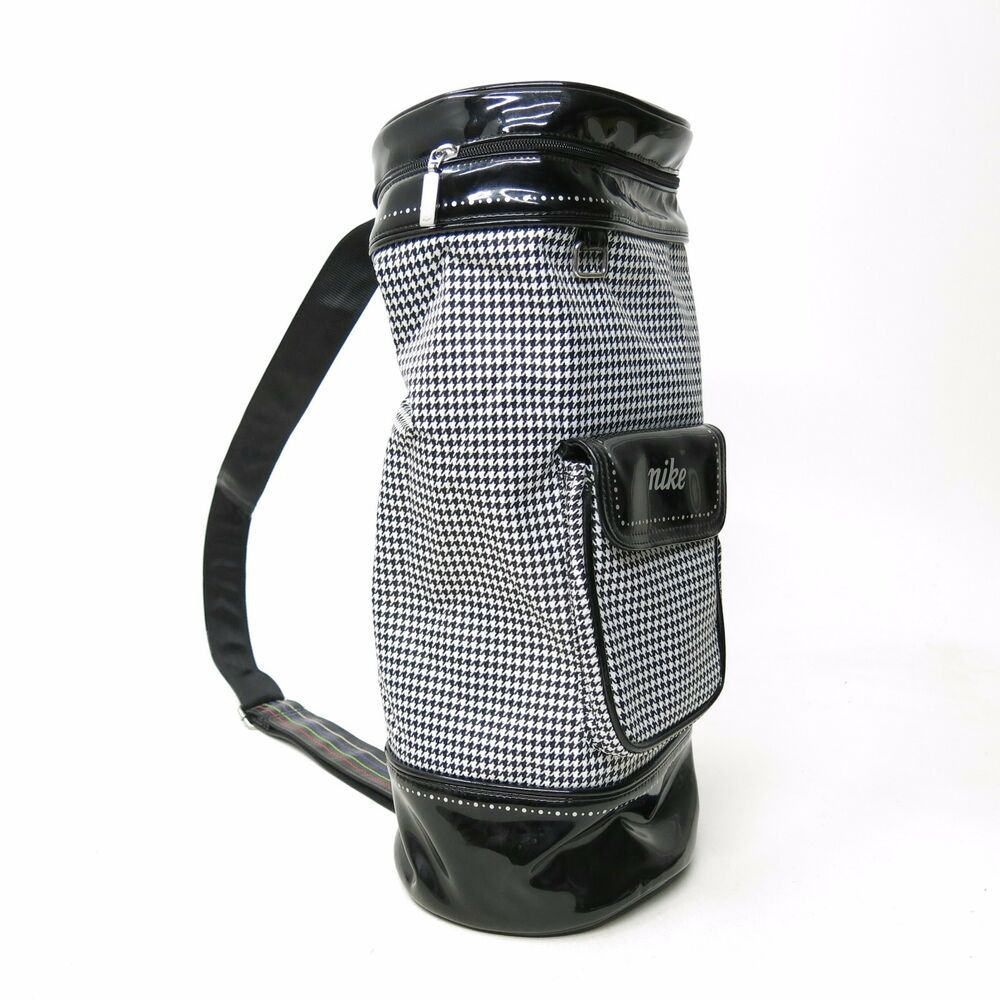 Nike Golf Women's Shoe Bag Sling Backpack Brassie Black