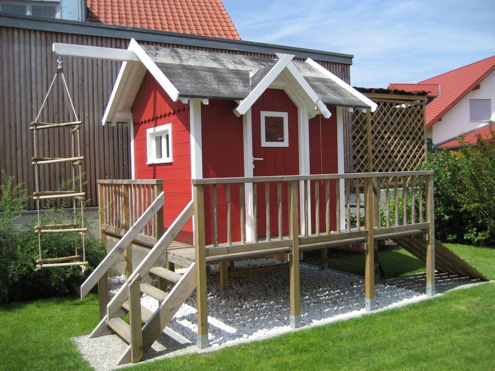Details zu Kinderspielhaus Bauplan Spielhaus Stelzenhaus