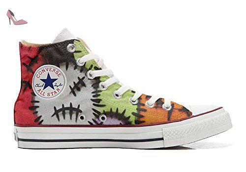 Make Your Shoes Converse Customized Adulte - chaussures coutume (produit artisanal) Brown Paisley size 33 EU xAQgZHU6h