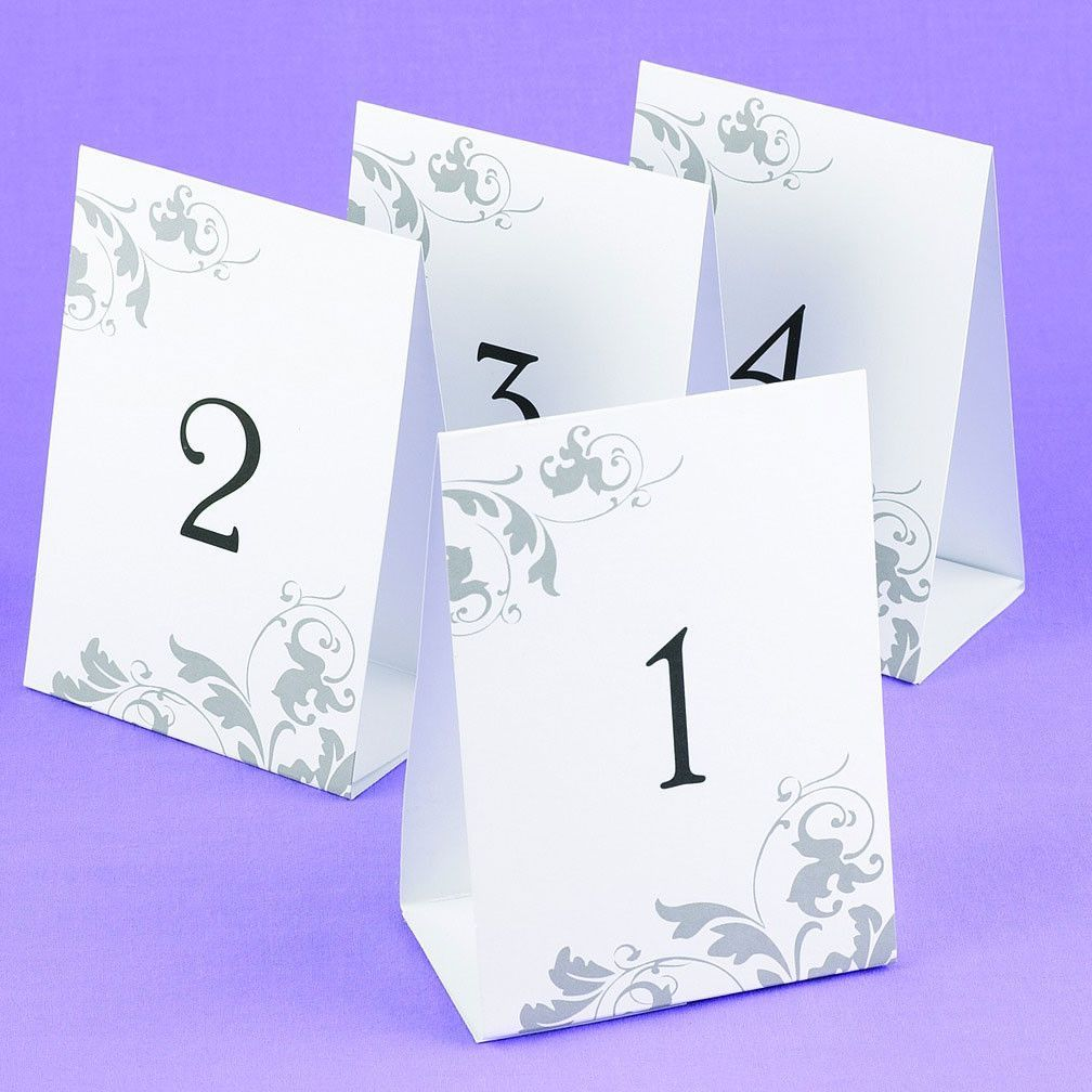 Table Number Tents  sc 1 st  Pinterest & Wedding tent-style white cards are freestanding and a decorative ...