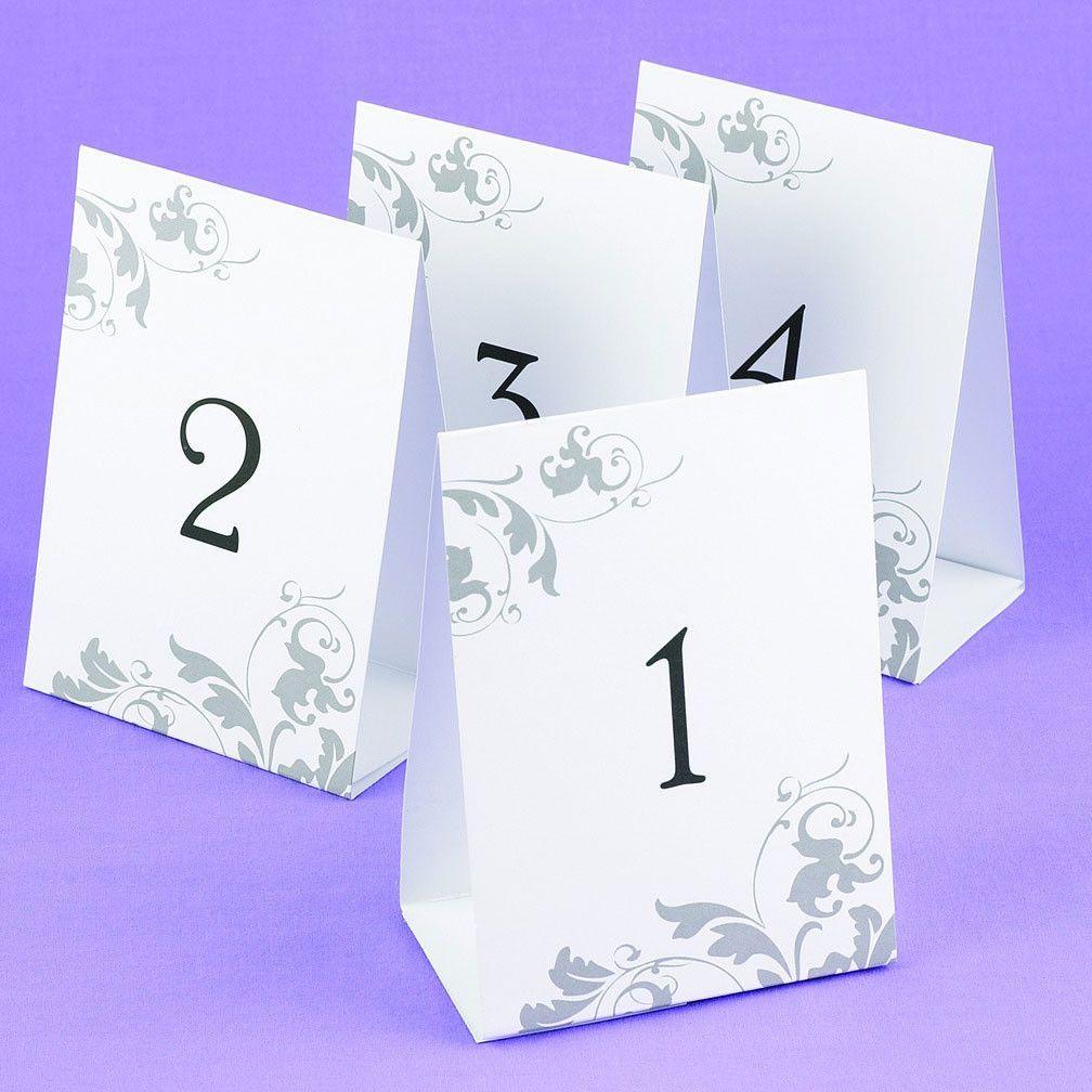 Нумерация столов из открыток