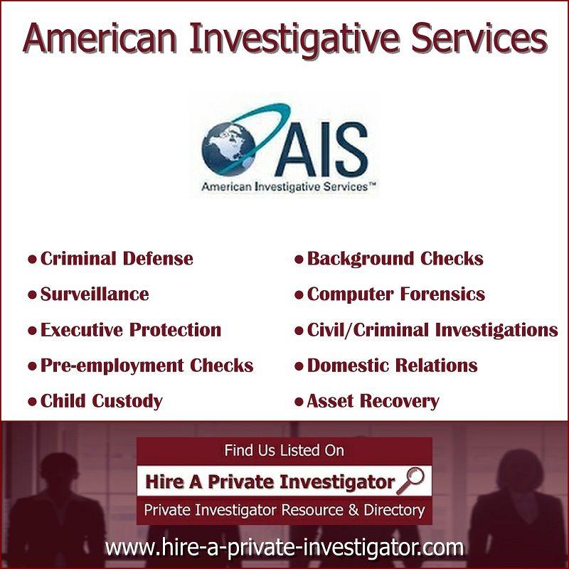 American Investigative Services Top Private Investigator In